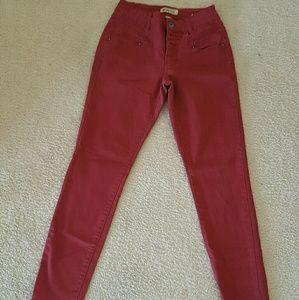 Jrs Blue Spice high waisted skinny jeans